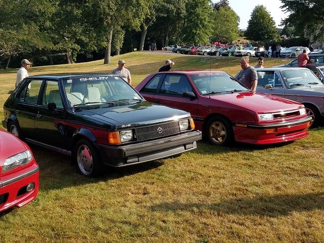 Larz Cars and Coffee 2017